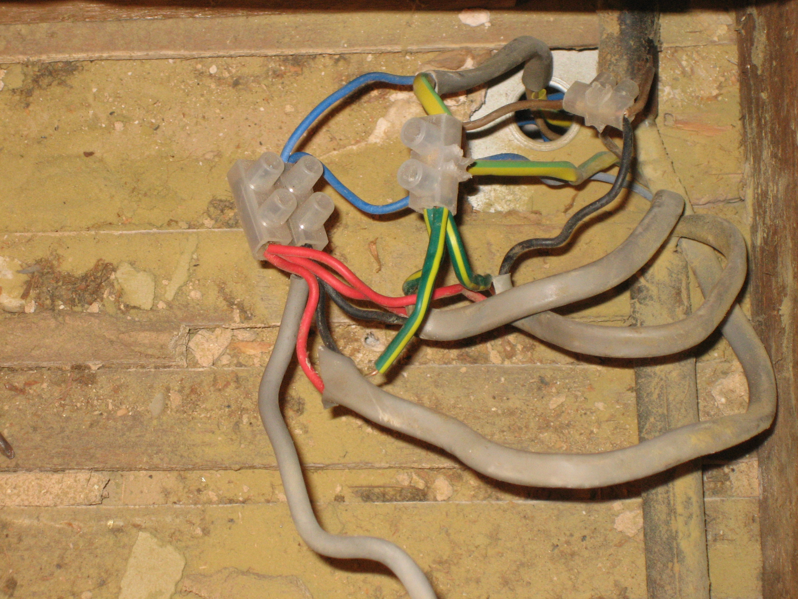 Rogues Gallery Electricians In Rugby T Gaynon Electrical Uk Wiring Wires Above Kitchen A Light Fitting Fitted